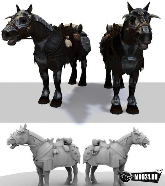 Броня для лошадей