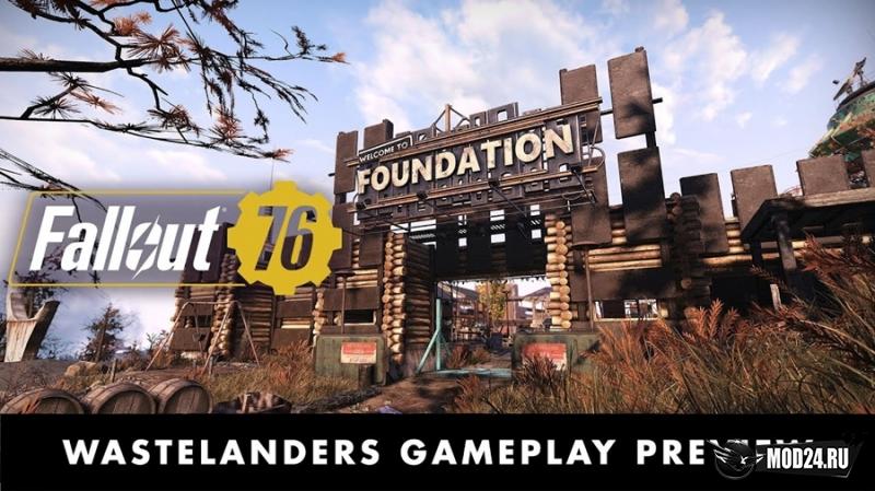 Превью Представлен геймплей Wastelanders для Fallout 76