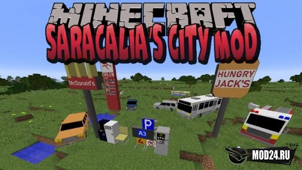 Превью Saracalia's City [1.12.2]