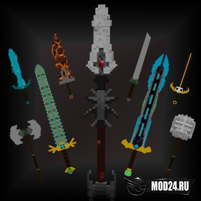 Превью Advanced Swords [1.15.2]
