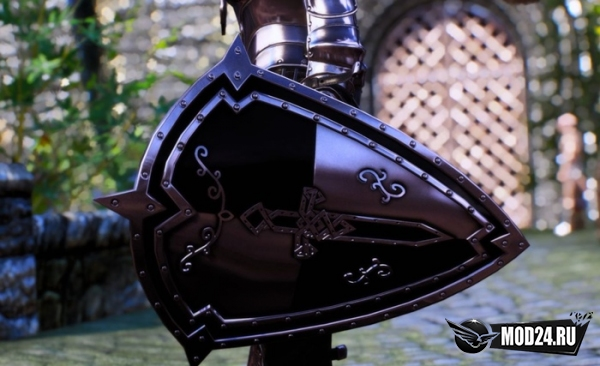 Щит темного рыцаря