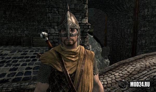 Открытые шлемы для стражников